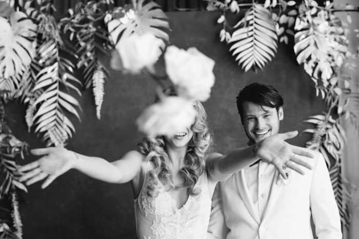 Gray & White Wedding Inspired Styled Shoot from Michael Will Photographers