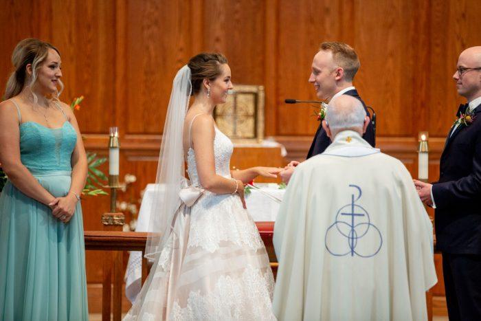 Whimsical Teal Antonelli Event Center Wedding