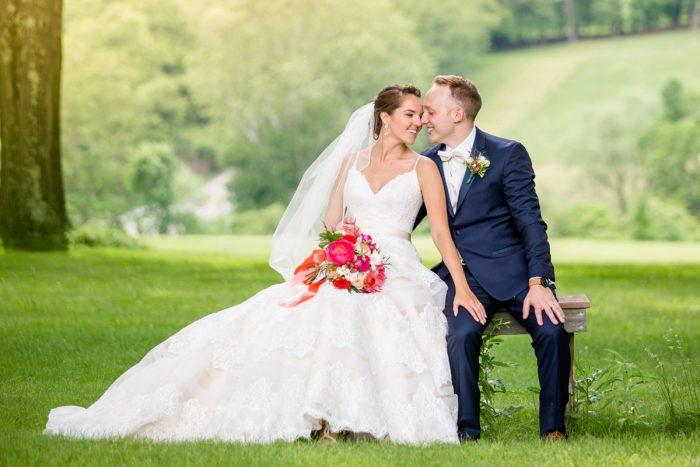 Bride groom wedding portraits: Whimsical Teal Antonelli Event Center Wedding
