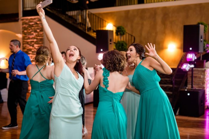 Whimsical Teal Antonelli Event Center Wedding