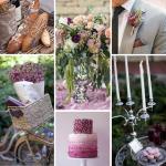 Parisian Plum & Silver Wedding Inspiration