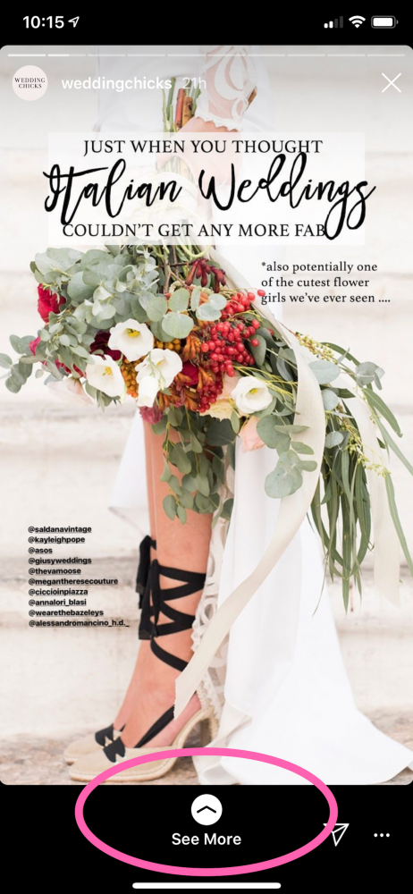 How to Use Instagram to Plan Your Wedding. Find more wedding planning tips at burghbrides.com!