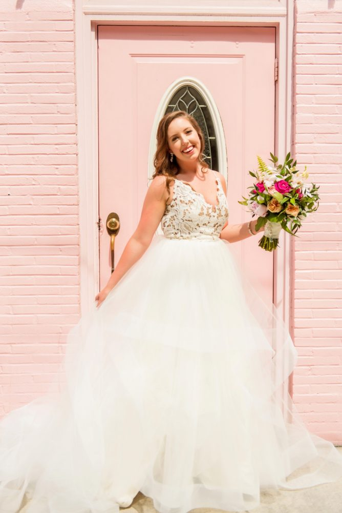 Here Come the (Best Dressed) Brides! See more wedding gown inspiration on burghbrides.com!