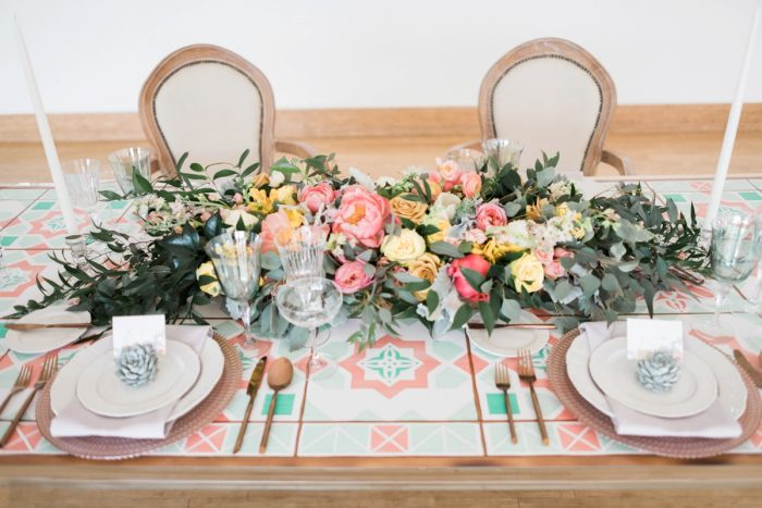 Dreamy Desert Jewel Toned Wedding Inspired Styled Shoot. Find more wedding inspiration at burghbrides.com!