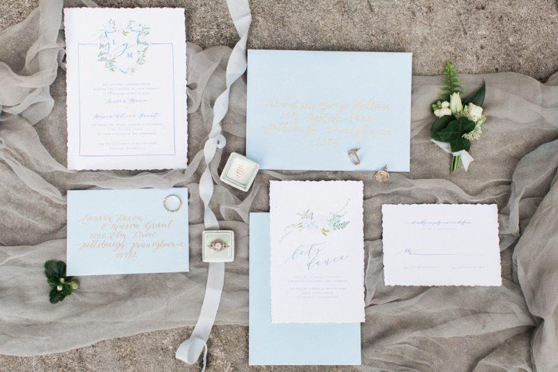 Blush Paper Co. - Pittsburgh Wedding Stationery Designer & Burgh Brides Vendor Guide Member