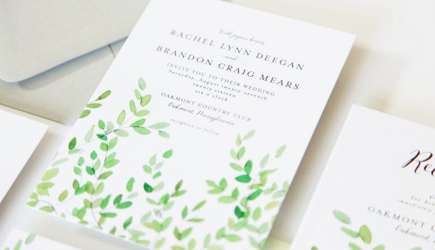 Fresh Cut Prints - Pittsburgh Wedding Stationery Designer & Burgh Brides Vendor Guide Member