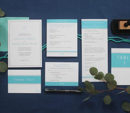 Purple Wagon Designs - Pittsburgh Wedding Stationery Designer & Burgh Brides Vendor Guide Member