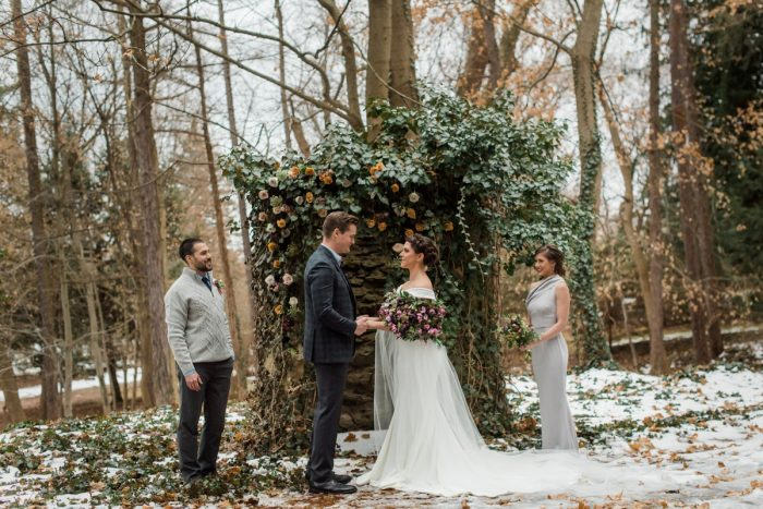 Fairy Tale Winter Wedding Inspiration. For more wedding ideas, visit burghbrides.com!