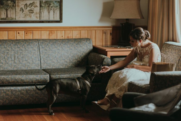 Rustic Chic Blackwater Falls Wedding with Breathtaking Views. See more Pittsburgh wedding inspiration at burghbrides.com!