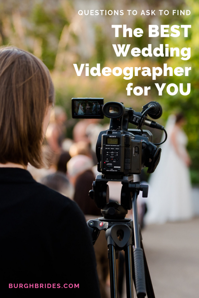 Questions to Ask to Find the BEST Wedding Videographer for YOU! For more wedding planning advice, visit burghbrides.com!