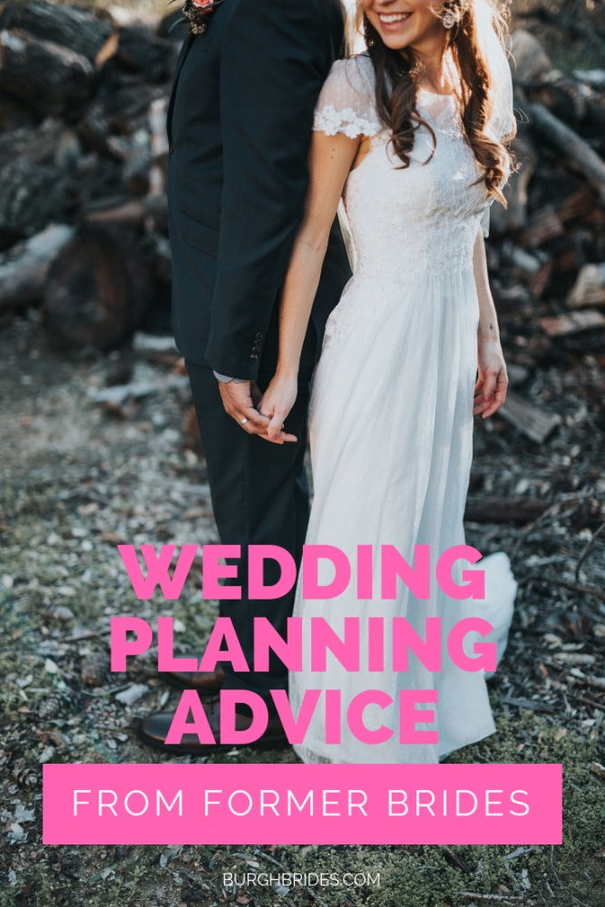 Wedding Planning Advice from Former Pittsburgh Brides. For more wedding planning tips, visit burghbrides.com!