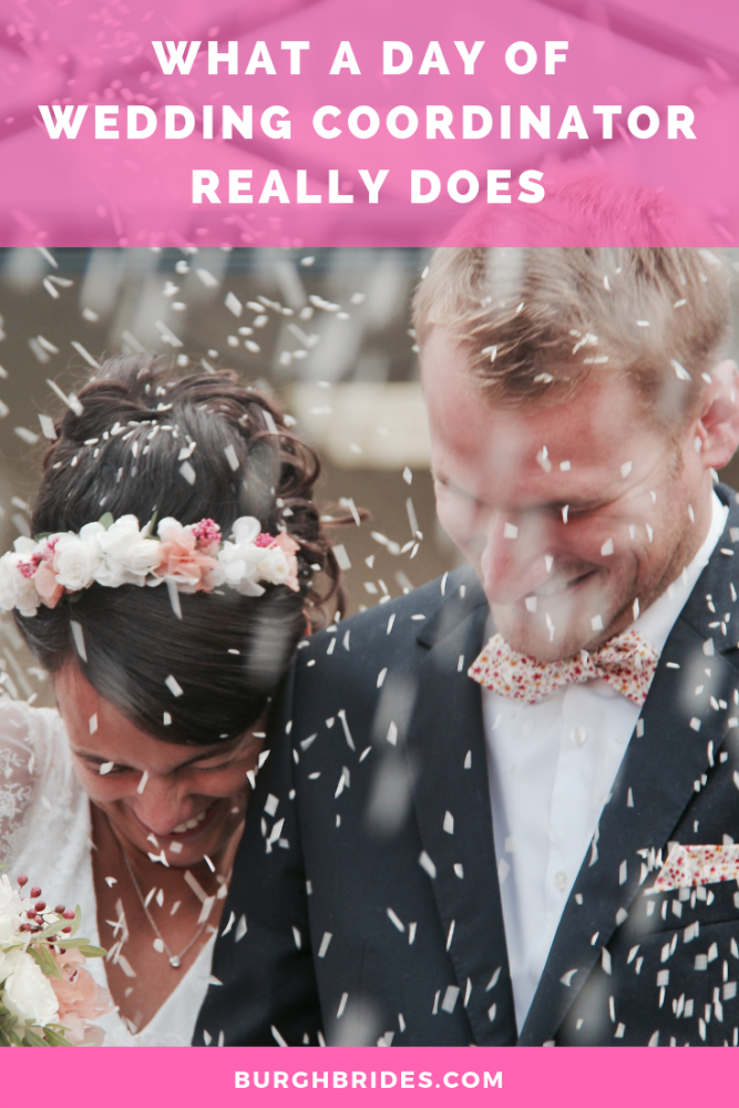 What a Day Of Wedding Coordinator Really Does. Find more wedding planning tips at burghbrides.com!