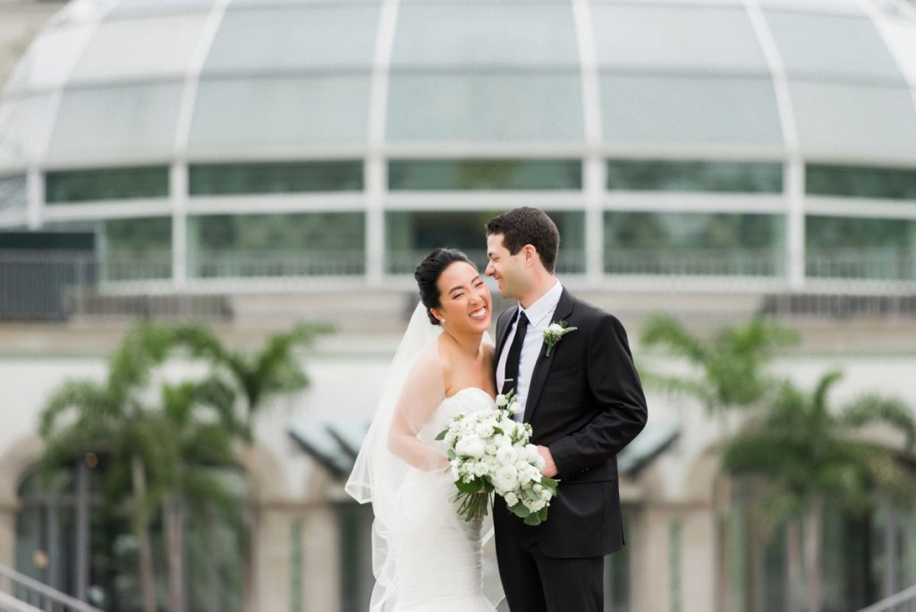 Elegant Soft Blue Phipps Conservatory Pittsburgh Wedding. For more wedding inspiration, visit burghbrides.com!