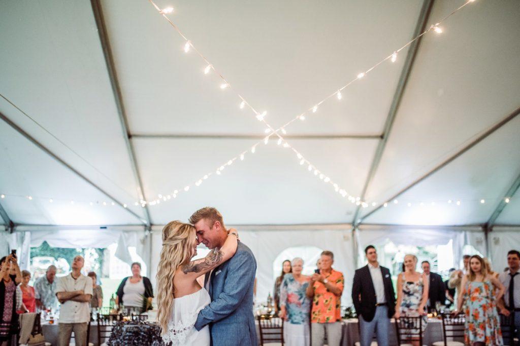 Botanical Inspired Tented Wedding. For more wedding ideas, visit burghbrides.com!