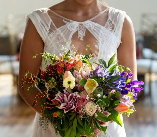 Bold Romantic Wedding Inspired Styled Shoot. For more wedding inspiration, visit burghbrides.com!