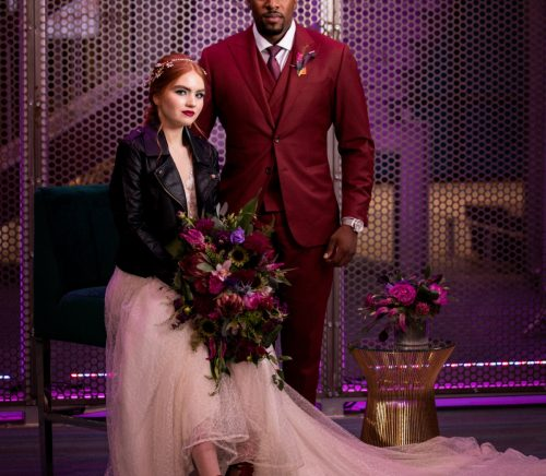 Urban Edgy Wedding Inspired Styled Shoot. For more wedding inspiration, visit burghbrides.com!