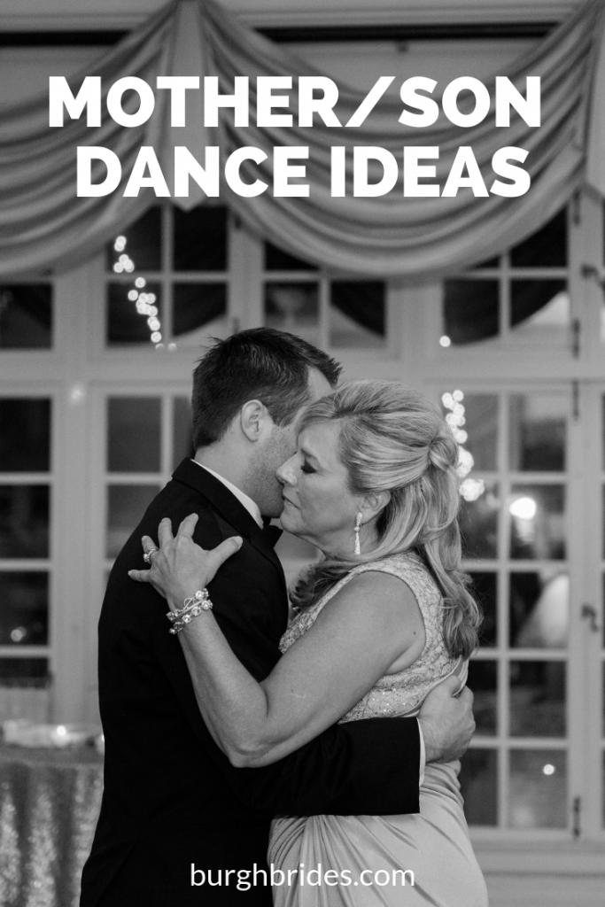 45 Mother/Son Dance Ideas from Burgh Brides. For more wedding inspiration, visit burghbrides.com!