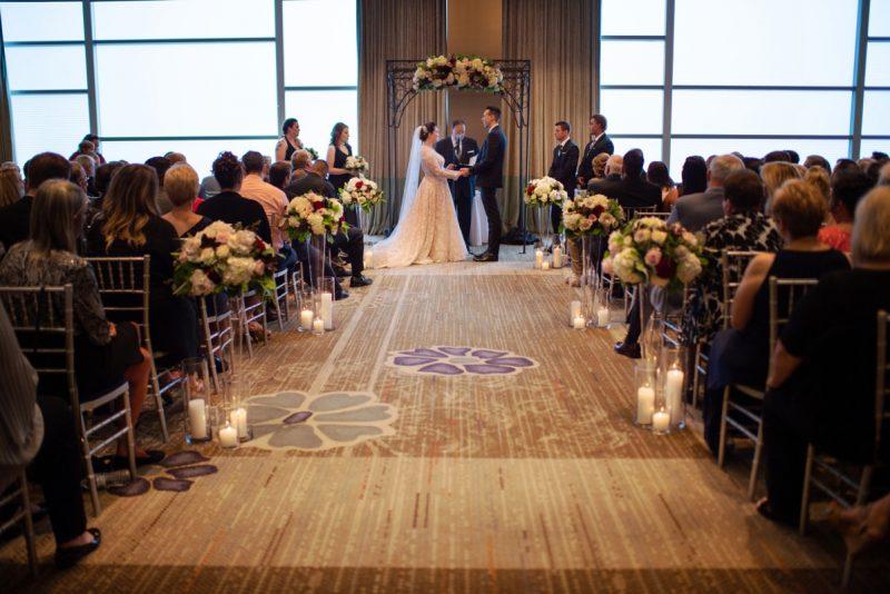 Modern Elegant Wedding at the Fairmont Hotel. For more wedding ideas, visit burghbrides.com!