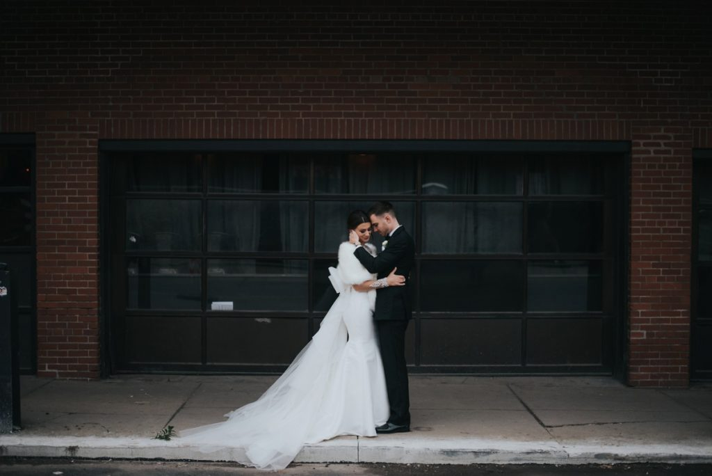 Classic Contemporary Wedding at the Duquesne Power Center. For more timeless wedding ideas, visit burghbrides.com!