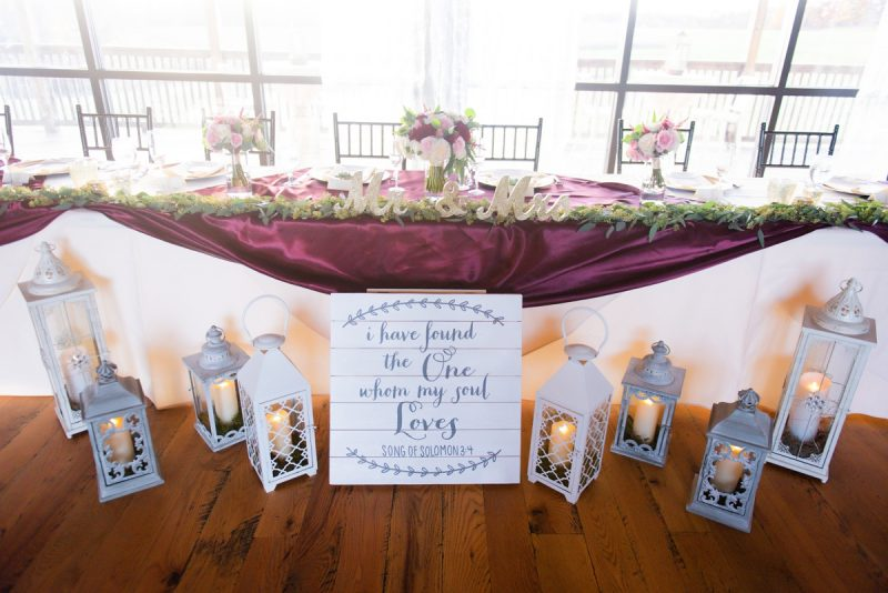 Romantic & Rustic Fall Wedding at The White Barn. For more rustic wedding ideas, visit burghbrides.com!