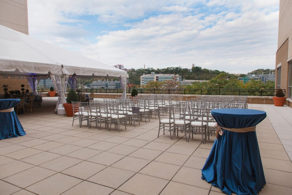 6 Ways You Can't Go Wrong with a Wedding at The Terrace at the Hyatt House. For more Pittsburgh wedding inspiration, visit burghbrides.com!