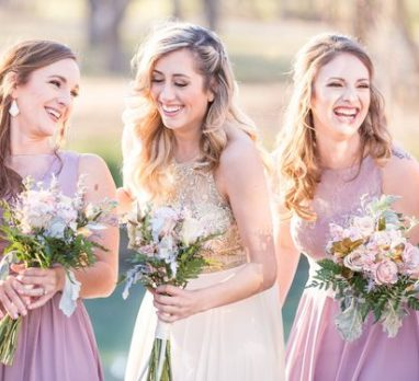 Pop the Bubbly for This Lavender & Champagne Wedding Inspiration. For more wedding color palette ideas, visit burghbrides.com!