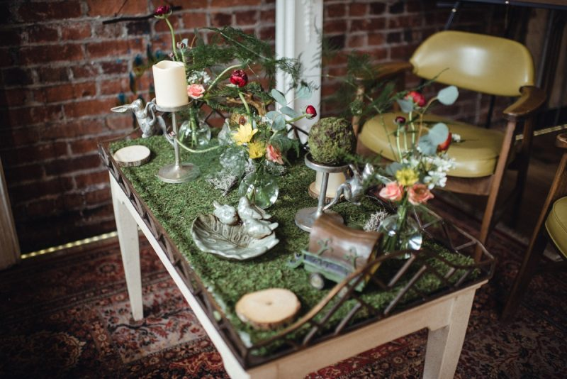 Garden Wedding Inspiration from The Big Fake Wedding Pittsburgh. For more spring wedding inspiration, visit burghbrides.com!