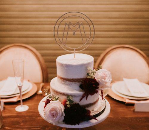 Modern Industrial New Hazlett Theater Wedding. For more industrial wedding ideas, visit burghbrides.com!