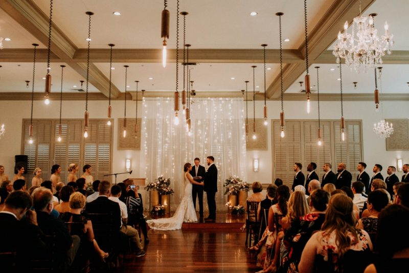 Industrial Glam Wedding at Noah's Event Venue. For more pretty wedding ideas, visit burghbrides.com!