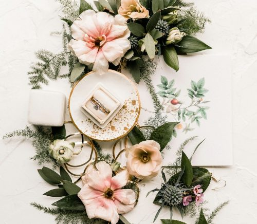 Divine Garden Wedding Inspiration. For more pretty wedding ideas, visit burghbrides.com!