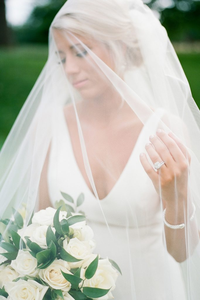 Divine Ivory & Gold Pittsburgh Field Club Wedding. For more luxury wedding inspiration, visit burghbrides.com!