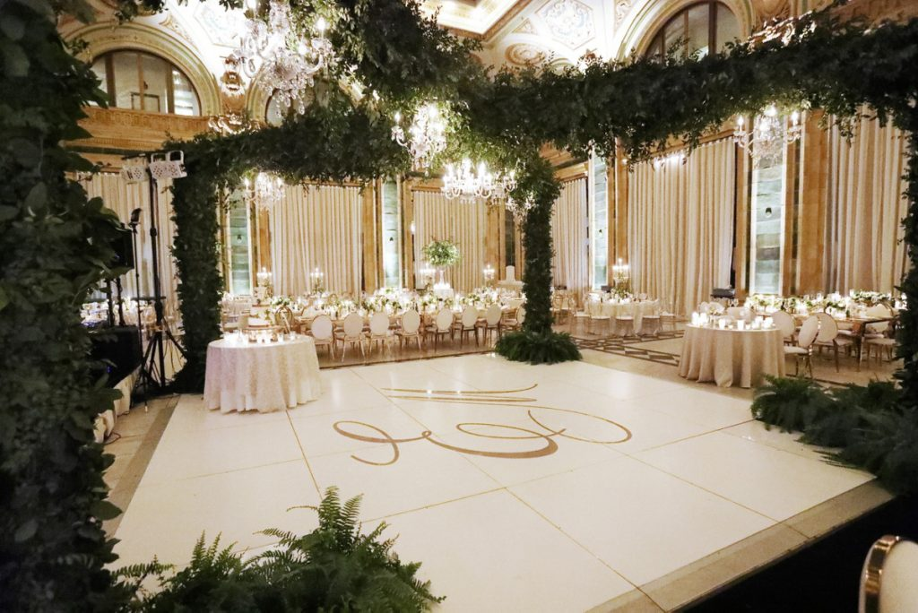 Opulent White on White Wedding at The Pennsylvanian. For more luxury wedding ideas, visit burghbrides.com!