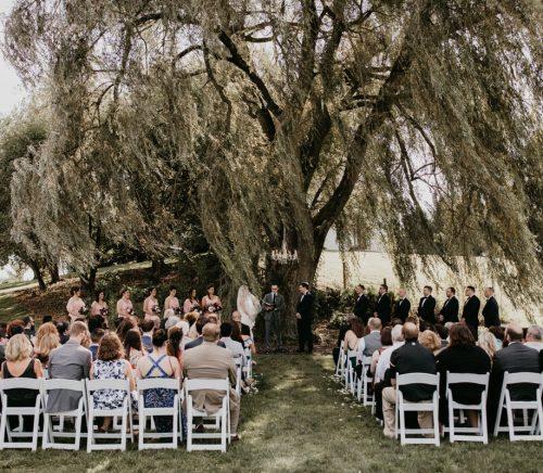 Whimsical Laid Back Wedding at Rustic Acres Farms. For more farm wedding ideas, visit burghbrides.com!
