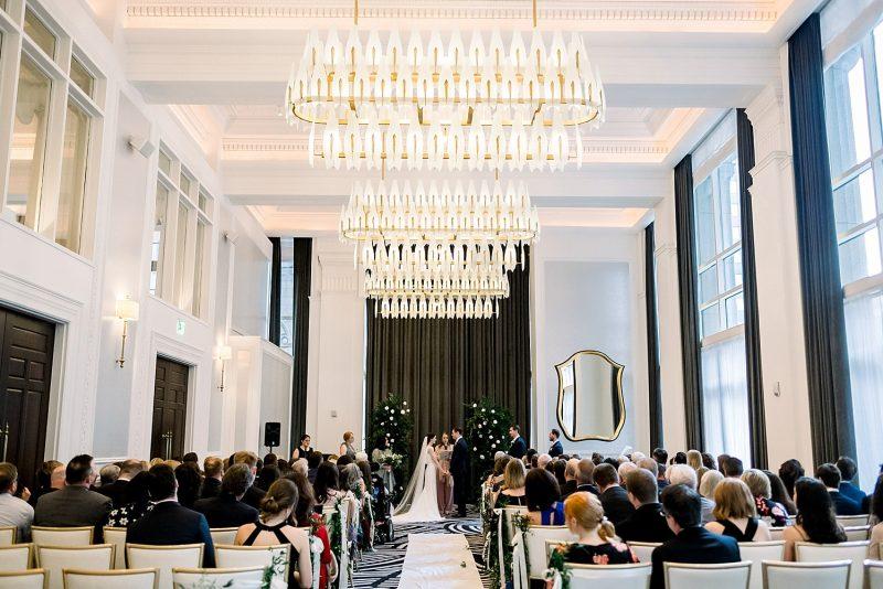 Hotel Monaco wedding ceremony