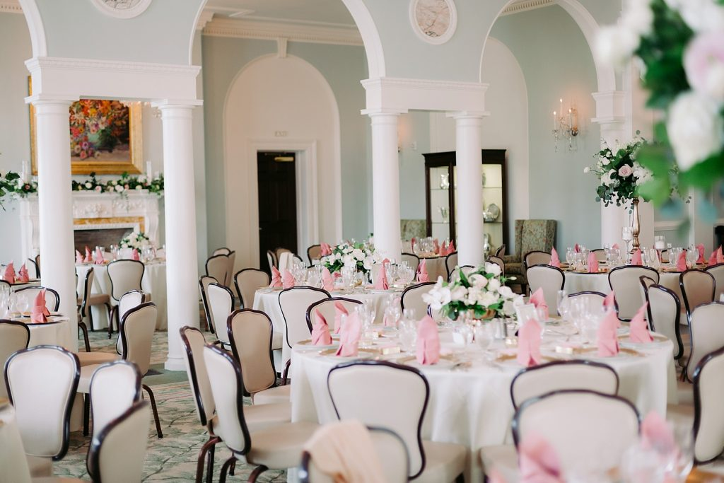 Garden Inspired Fox Chapel Golf Club Wedding. For more blush pink wedding inspiration, visit burghbrides.com!