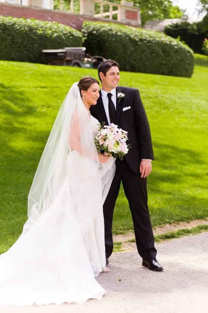 Pretty Pastel Fox Chapel Golf Club Wedding. For more spring wedding ideas, visit burghbrides.com!