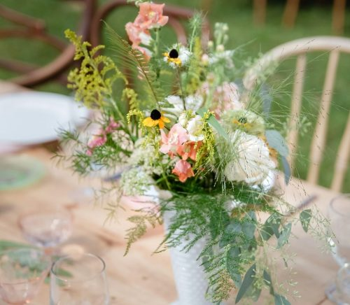 Charming DIY Wedding at SanaView Farms. For more rustic wedding ideas, visit burghbrides.com!