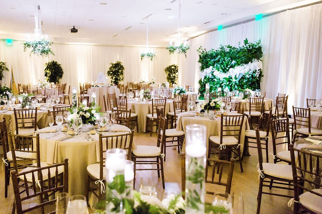 Chic Green & White Phipps Conservatory Wedding. For more luxury wedding ideas, visit burghbrides.com!