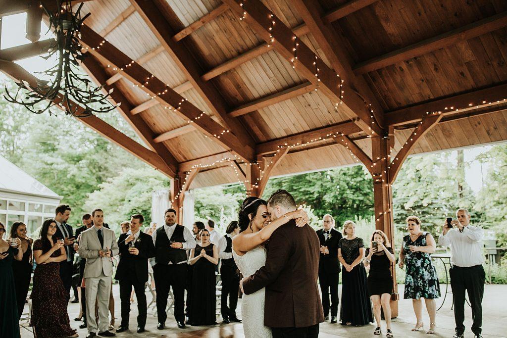 Jewel Toned Wedding at Springwood Conference Center. For more modern wedding ideas, visit burghbrides.com!