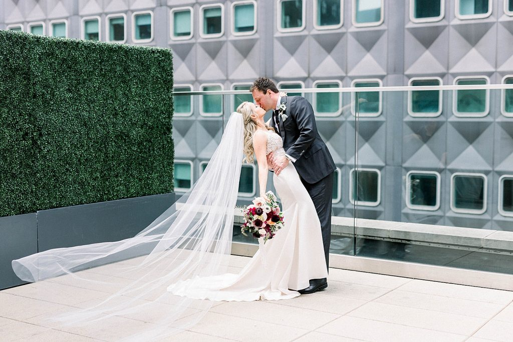 Dreamy Black Tie Inspired Carnegie Museum Wedding. For more luxury wedding inspiration, visit burghbrides.com!