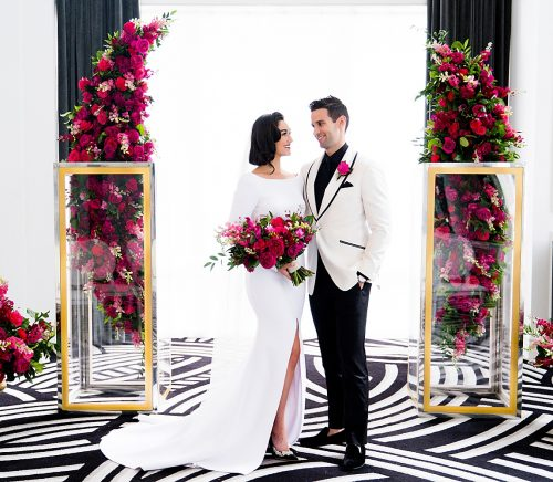 Ultra Luxe Wedding Inspiration. For more beautiful wedding ideas, visit burghbrides.com!