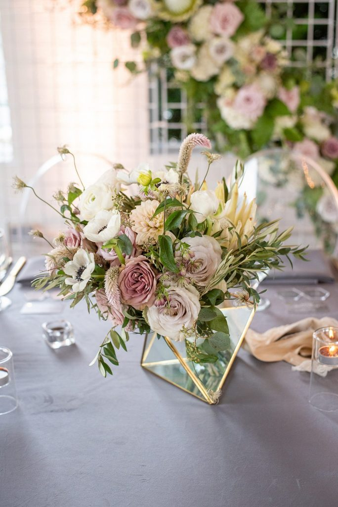 Modern Industrial Riverfront Weddings Celebration. For more modern wedding ideas, visit burghbrides.com!