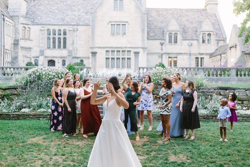 Blissful Blue Outdoor Wedding at Hartwood Acres. For more outdoor wedding ideas, visit burghbrides.com!