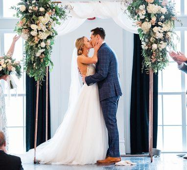 Super Romantic ACE Hotel Wedding. For more beautiful wedding ideas, visit burghbrides.com!