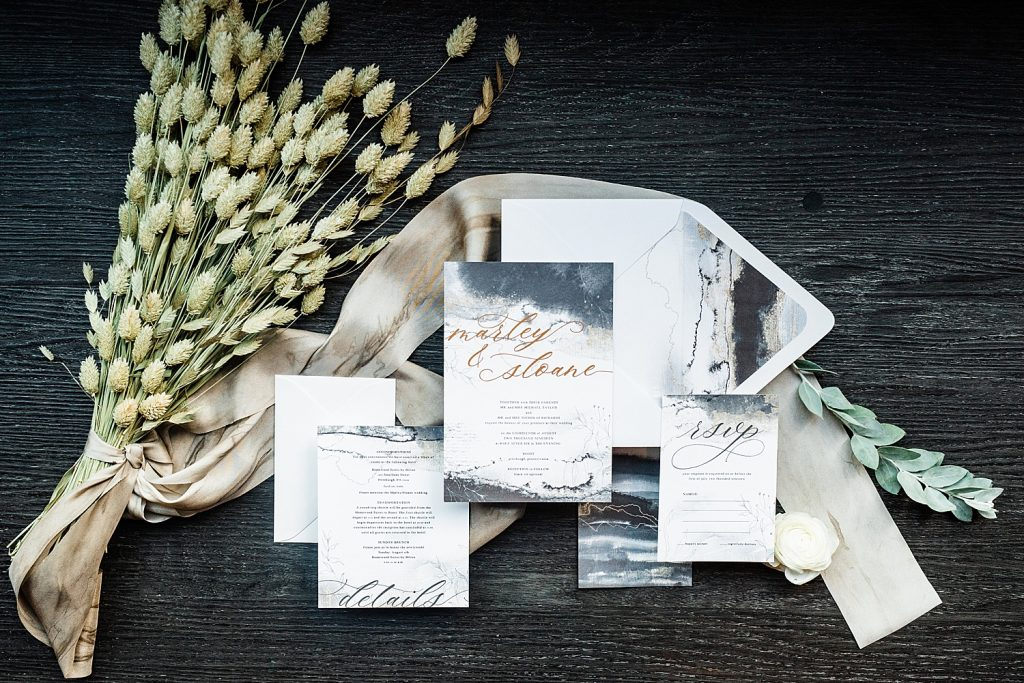 Urban Pittsburgh Wedding Venue Styled 3 Different Ways. For more Pittsburgh wedding ideas, visit burghbrides.com!
