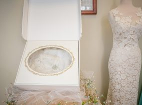 Wedding Gown Cleaning & Preservation FAQs. For more bridal tips, visit burghbrides.com!