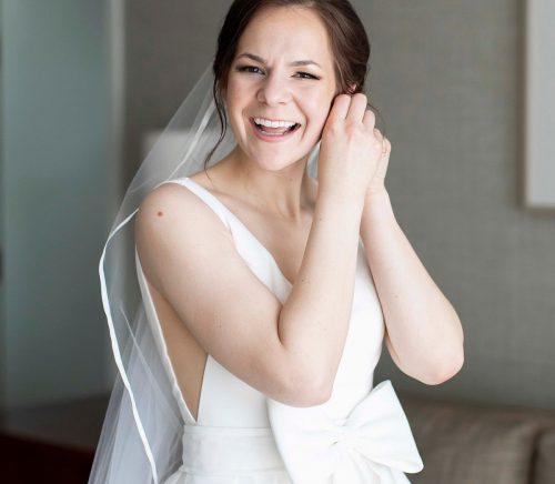 Romantic Monochromatic Westin Pittsburgh Wedding. For more hotel wedding ideas, visit burghbrides.com!