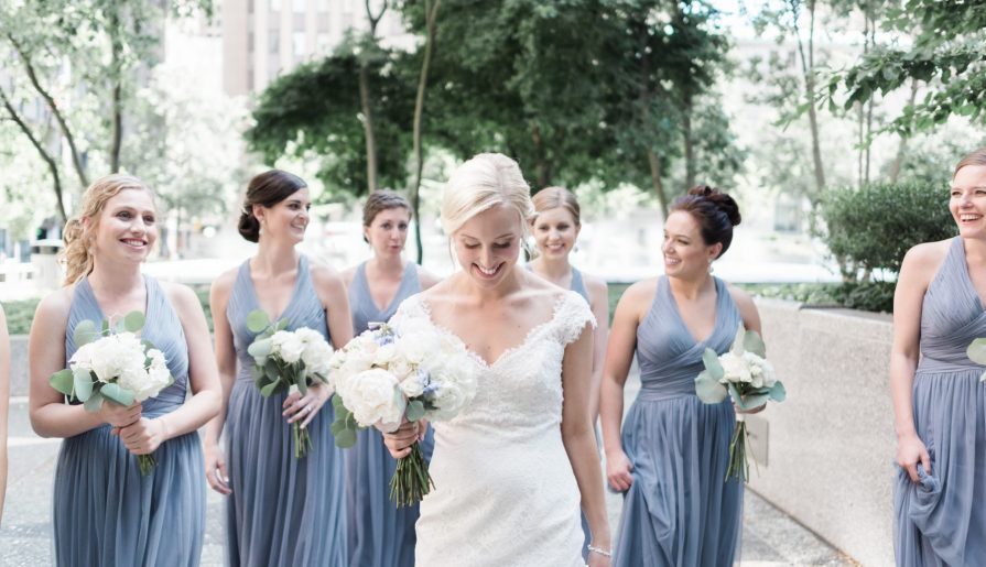 Swoon Worthy French Blue Wedding at the Pennsylvanian. For more chic wedding ideas, visit burghbrides.com!