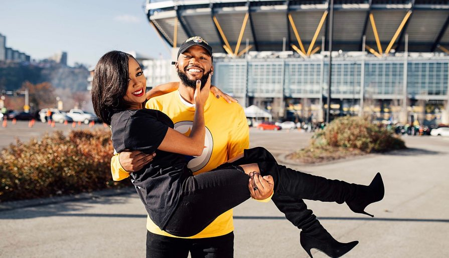 Heinz Field Engagement Session