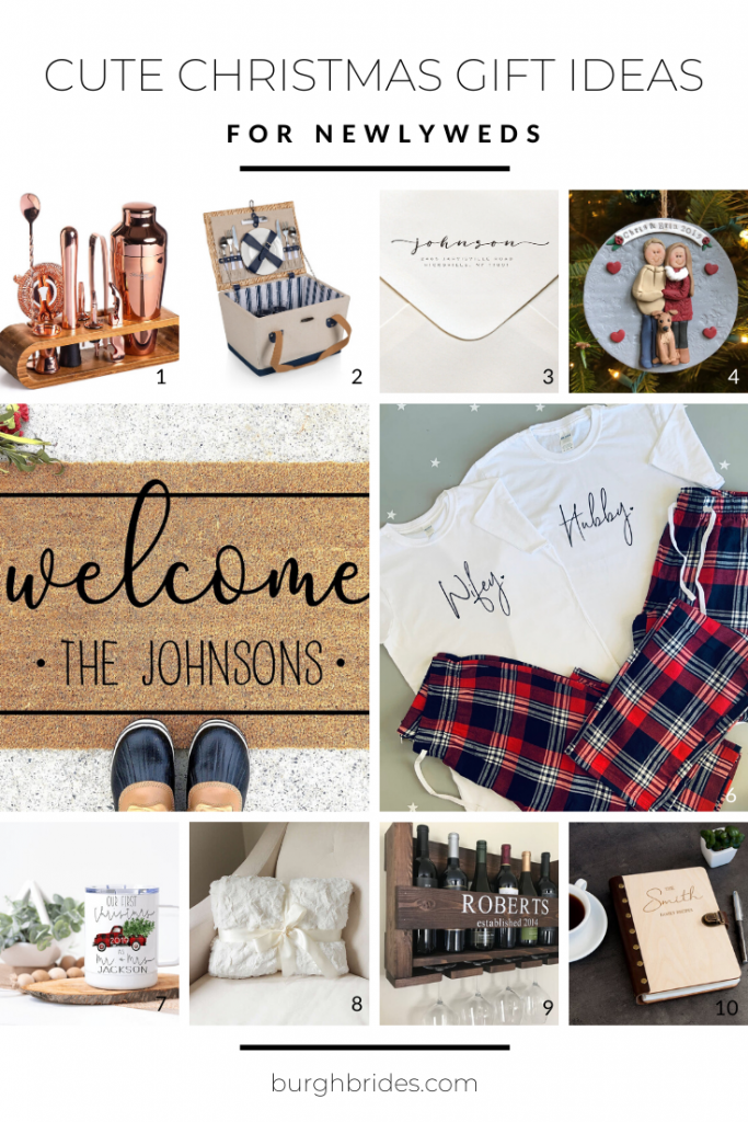 Cute Christmas Gift Ideas for Newlyweds
